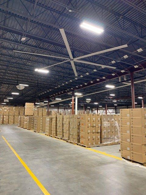 IK10+ Lighting Vornado Warehouse Andover, KS