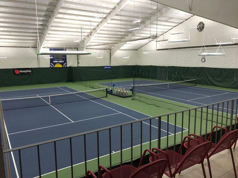 IK10 Lighting at Hempfield Tennis Center