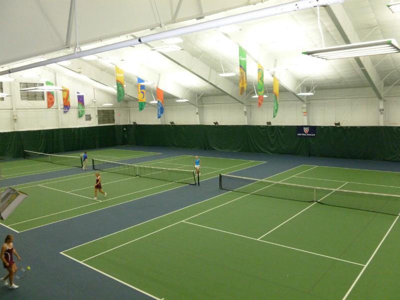 IK10 Series Lighting at Arthur Ashe Indoor Tennis Courts
