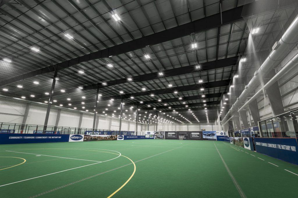 IK10+ Lighting Calgary Soccer Centre