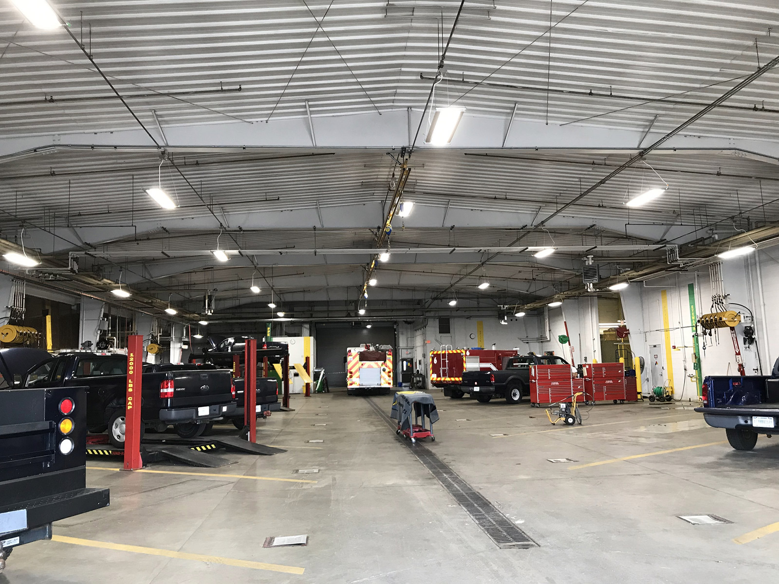 IK10 Lighting Ohio National Guard Depot
