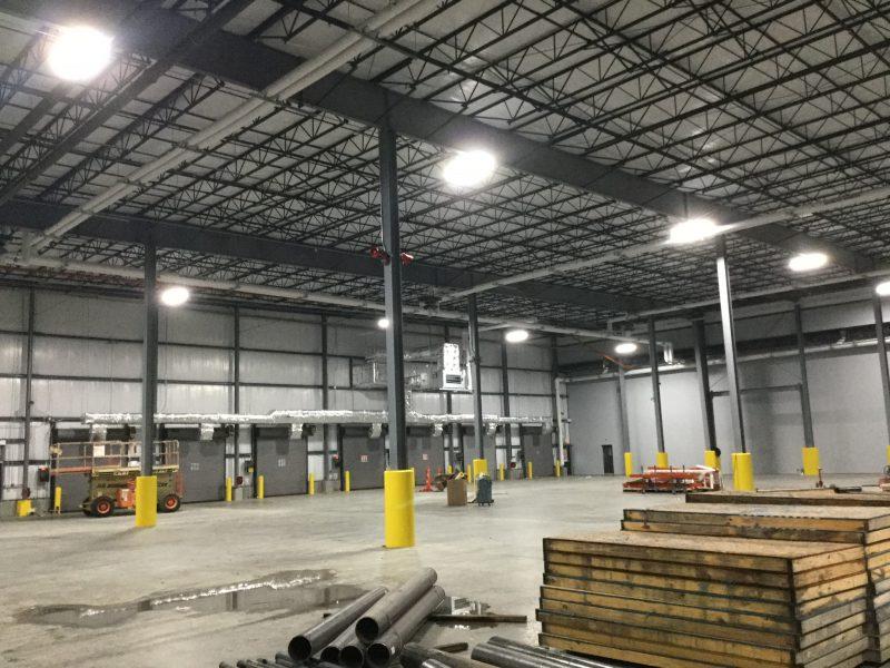 IK10 Lighting in Jack Daniels Warehouse