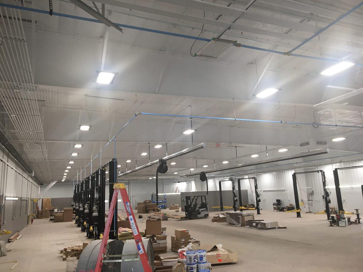 IK10 Lighting Riverside Toyota Marquette, MI Warehouse