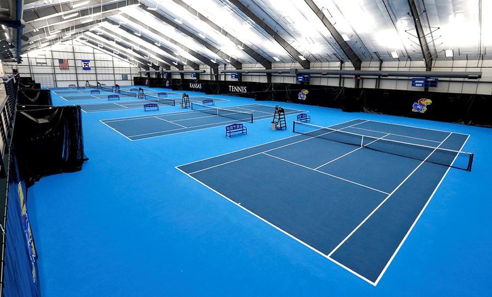 IK10 Series Lighting at KC Lawrence Tennis Center