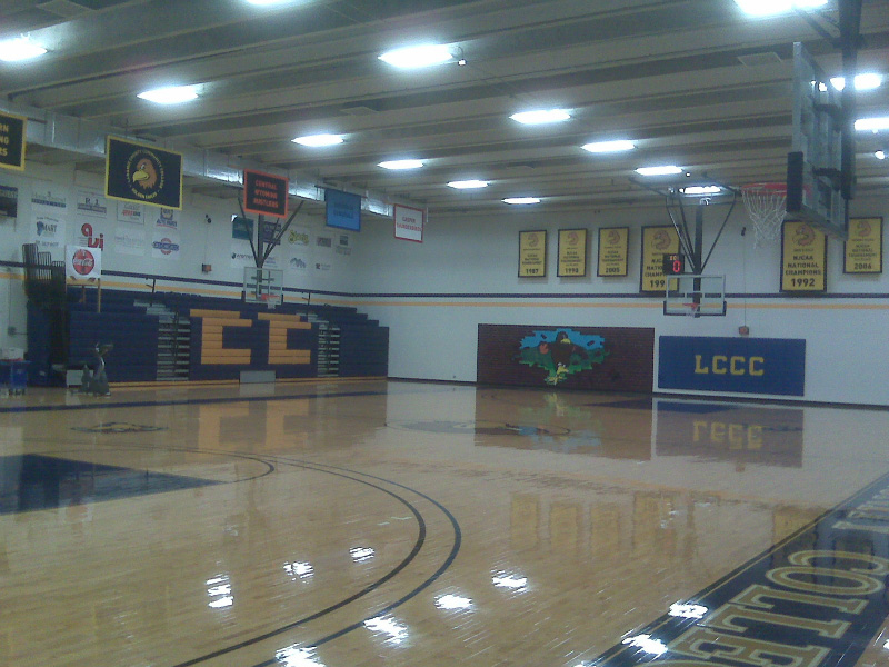 IK10 Lighting - LCCC Gym