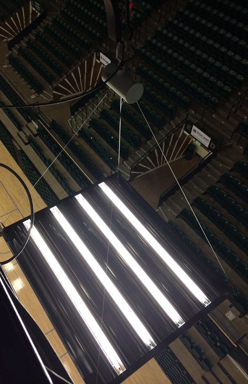IK10 Lighting Fixture - Moby Gym
