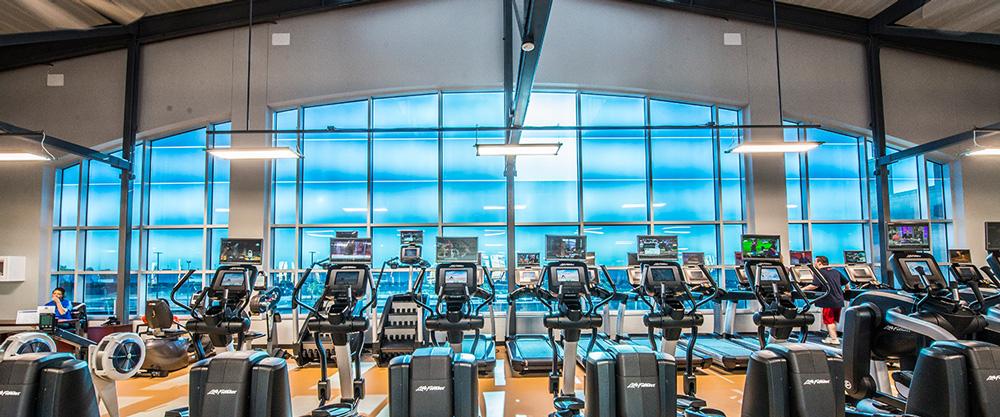 IK10 Series Lighting Moore Central Park Fitness Center