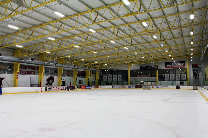 IK10 Lighting RMU Island Sports Center - NHL Rink
