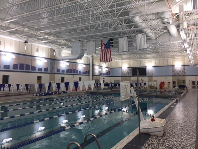 Wave Lighting in Riverside Brookfield Pool