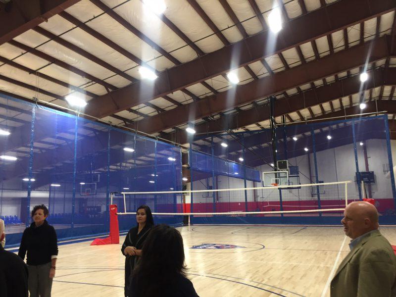 IK10 Lighting Basketball Court at Sportika