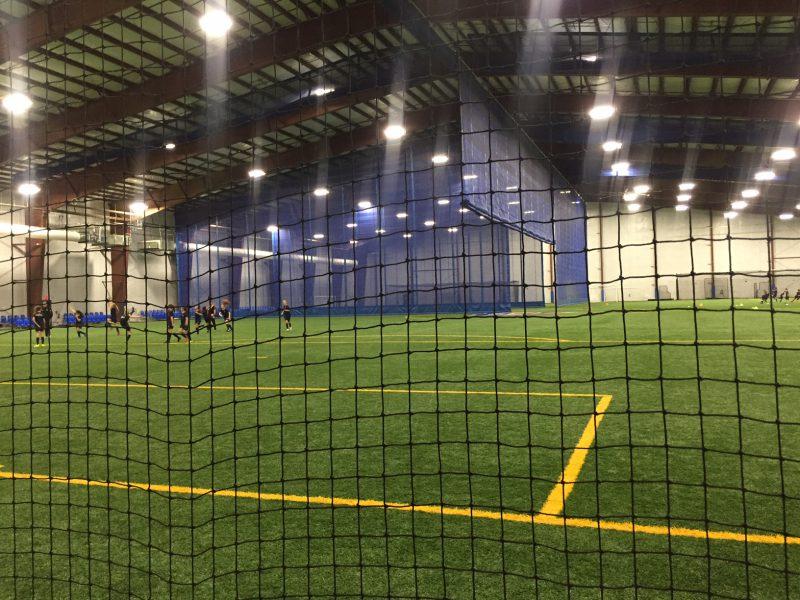 IK10 Lighting Indoor Soccer Field Sportika